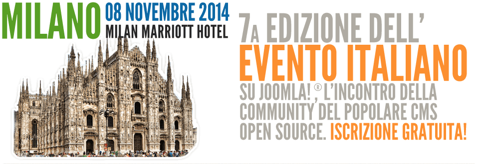 Joomla Day Milano 2014