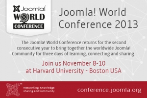 Joomla World Conference 2013