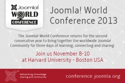 Il Joomla World Conference 2013